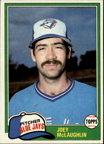 Photo of 1981 Topps #248 Joey McLaughlin