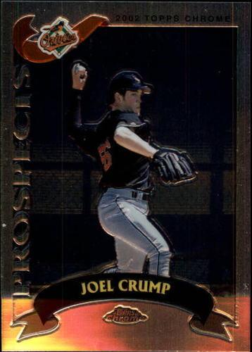 Photo of 2002 Topps Chrome Traded #T198 Joel Crump RC