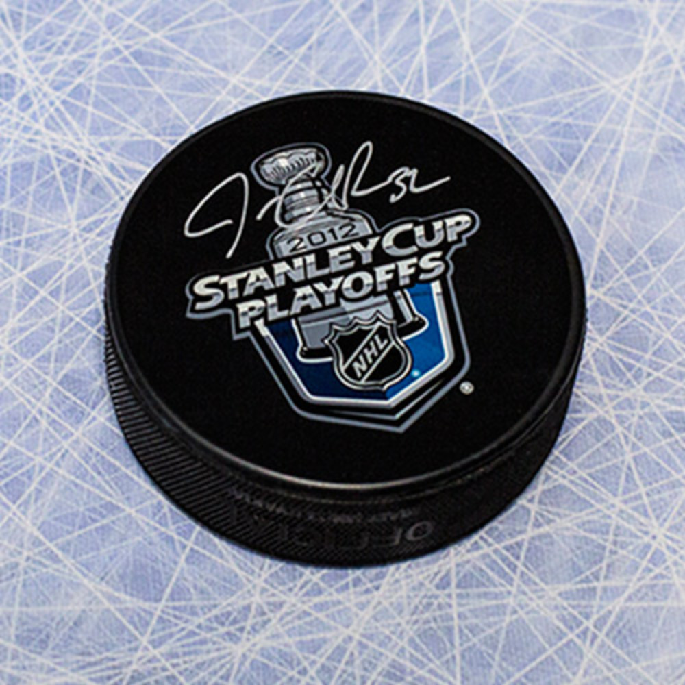 Jonathan Quick Los Angeles Kings Autographed 2012 Stanley Cup Playoffs Puck