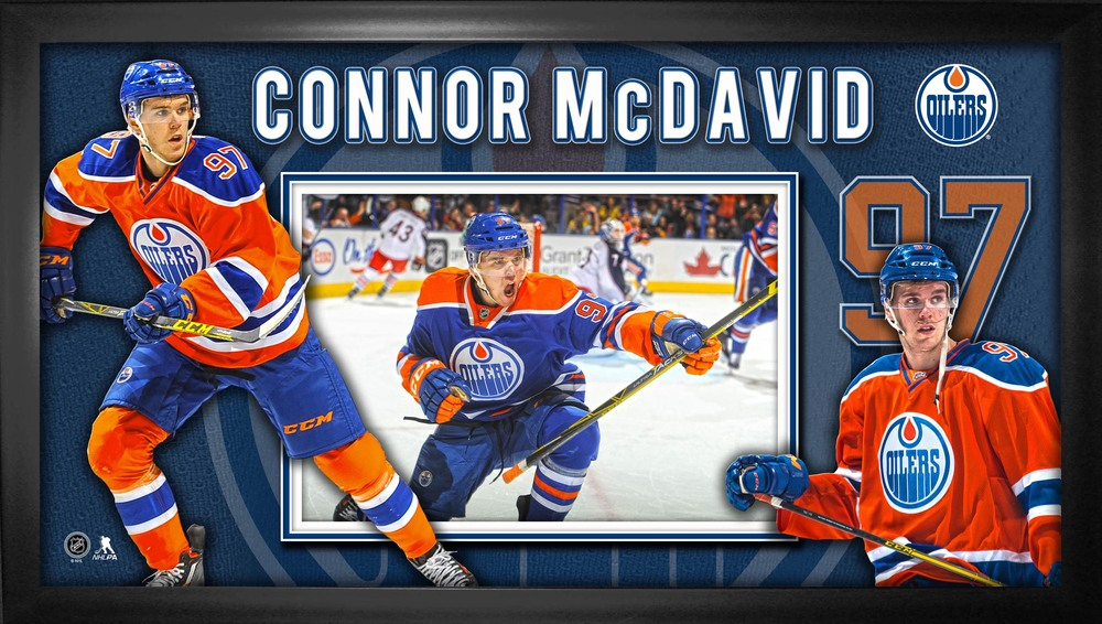 Connor McDavid - Framed 10x20
