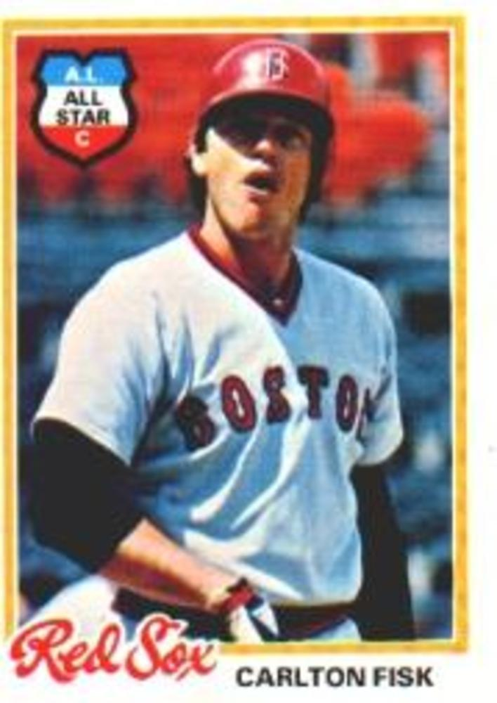 1978 Topps #270 Carlton Fisk -- Hall of Famer