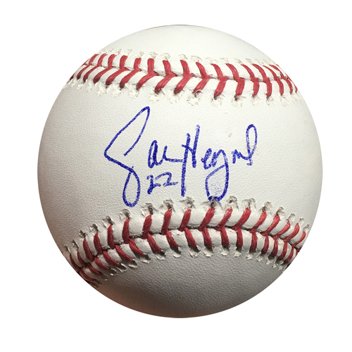 Jason Heyward Autographed World Series Baseball