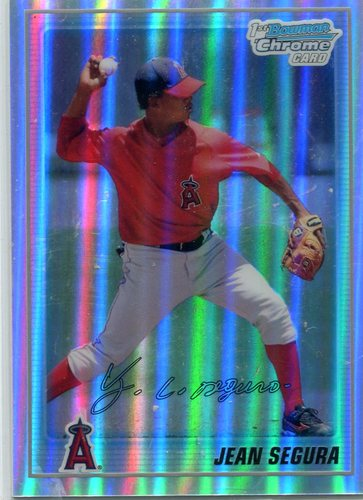 Photo of 2010 Bowman Chrome Prospects Refractors  Jean Segura