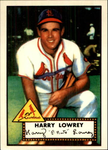 Photo of 1983 Topps 1952 Reprint #111 Peanuts Lowrey