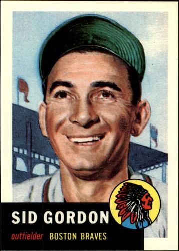 Photo of 1991 Topps Archives 1953 #117 Sid Gordon
