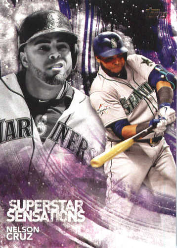 Photo of 2018 Topps Superstar Sensations #SSS14 Nelson Cruz
