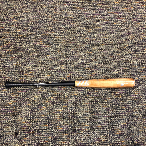 Photo of San Francisco Giants - Game-Used Broken Bat - Used by #22 Andrew McCutchen on 3/31/2018 vs. the Los Angeles Dodgers