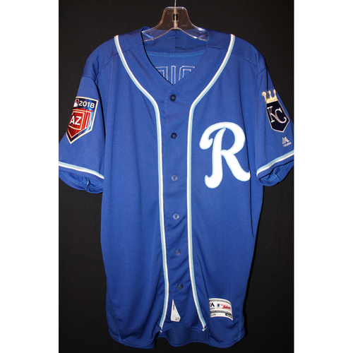 Photo of Team-Issued Spring Training Jersey: Whit Merrifield (Size 44)