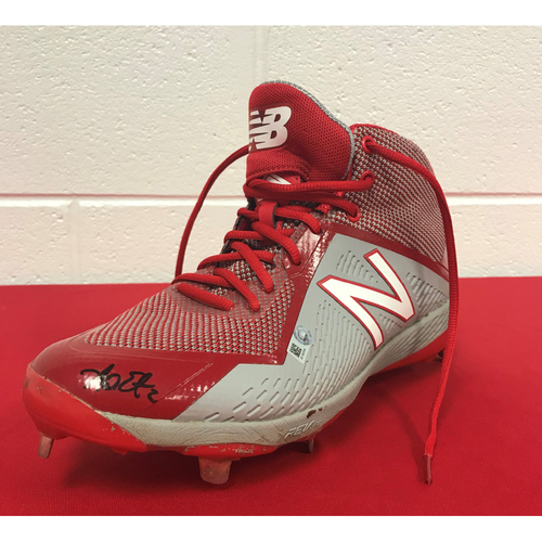 Photo of Autographed Adam Eaton Cleat