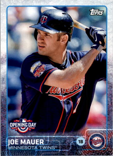 Photo of 2015 Topps Opening Day #68A Joe Mauer