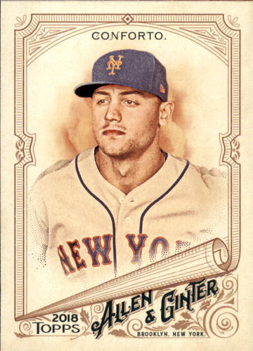 Photo of 2018 Topps Allen and Ginter #22 Michael Conforto