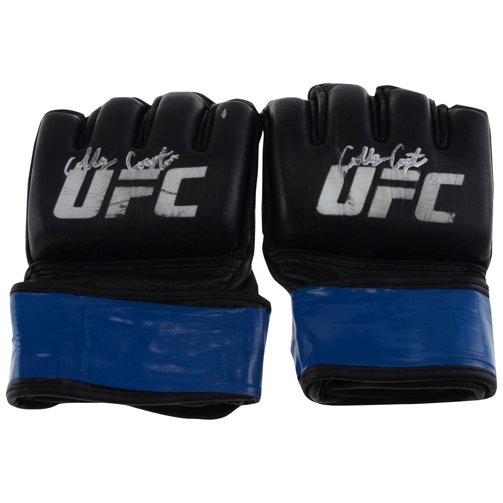 Colby Covington Autographed UFC Fight Night: VanZant vs. Waterson Fight-Worn Gloves - Defeated Bryan Barberena via Unanimous Decision