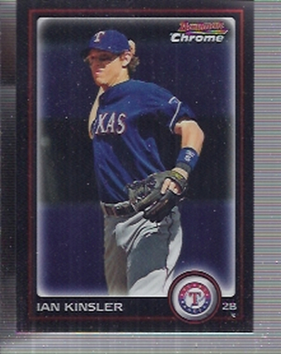 Photo of 2010 Bowman Chrome #160 Ian Kinsler