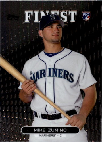 Photo of 2013 Finest #32 Mike Zunino Rookie Card