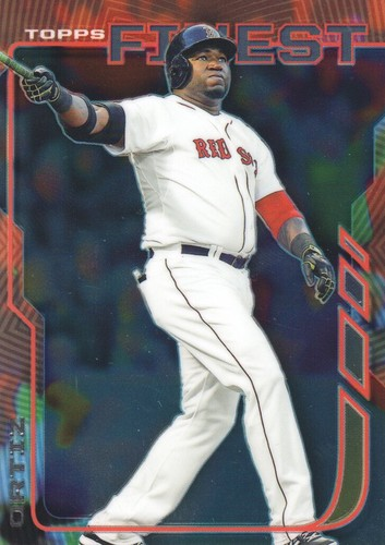 Photo of 2014 Finest #55 David Ortiz