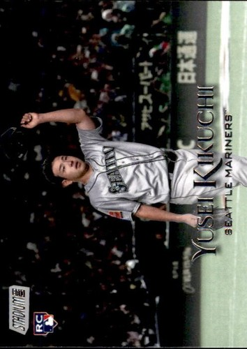 Photo of 2019 Stadium Club #274 Yusei Kikuchi RC