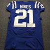 Crucial Catch - Colts Nyheim Hines Signed and Game Issued Jersey Size 40