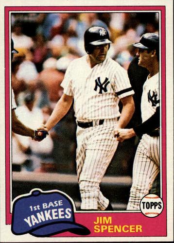 Photo of 1981 Topps #435 Jim Spencer