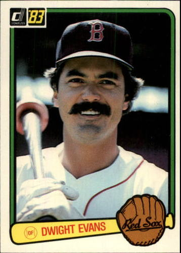 Photo of 1983 Donruss #452 Dwight Evans