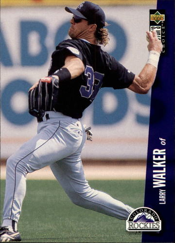 Photo of 1996 Collector's Choice #540 Larry Walker