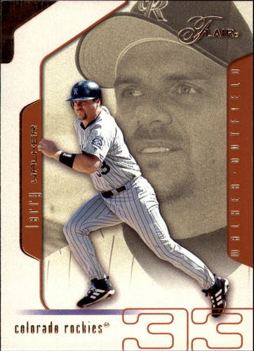 Photo of 2002 Flair #96 Larry Walker