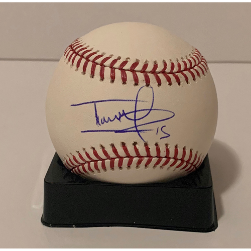 Photo of Ildemaro Vargas Autographed Ball