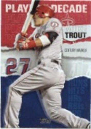 Photo of 2020 Topps Player of the Decade Mike Trout #MT6 Mike Trout