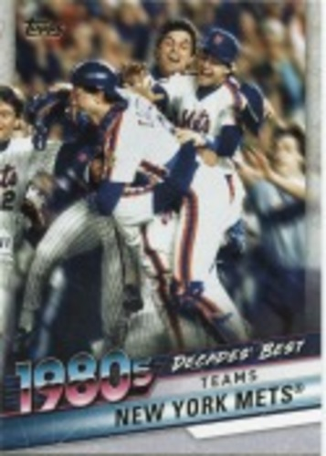 Photo of 2020 Topps Decades' Best Series 2 #DB55 New York Mets