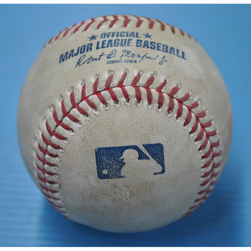 Game-Used Baseball - DET at PIT - 8/7/2020 - Pitcher - Matt Boyd (DET), Batter - Jacob Stallings, Bot 4, Double
