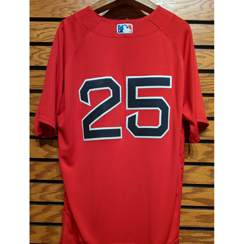 Photo of #25 Team Issued Red Home Alternate Jersey