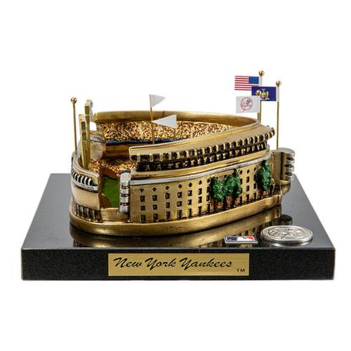 "Photo of LOT #60: ""The House That Ruth Built"" - Miniature Stadium Replica of the Original Yankee Stadium"