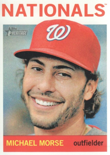 Photo of 2013 Topps Heritage #213 Michael Morse
