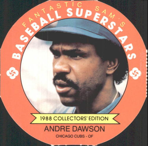 Photo of 1988 MSA Fantastic Sam's Discs #15 Andre Dawson