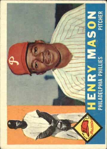 Photo of 1960 Topps #331 Henry Mason RC