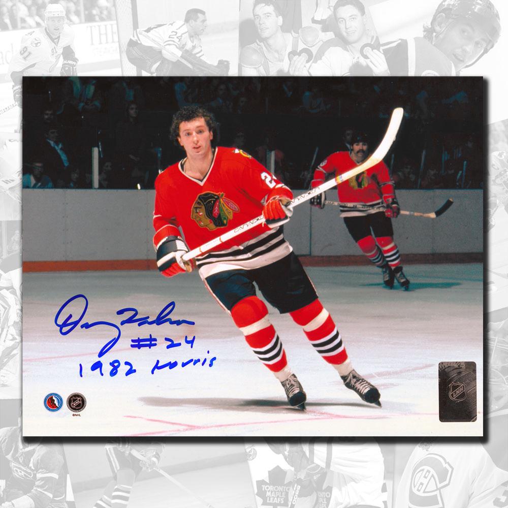 Doug Wilson Chicago Blackhawks Norris 82 Autographed 8x10