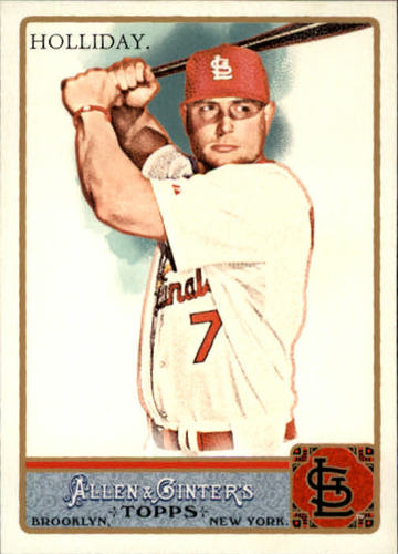 Photo of 2011 Topps Allen and Ginter #240 Matt Holliday