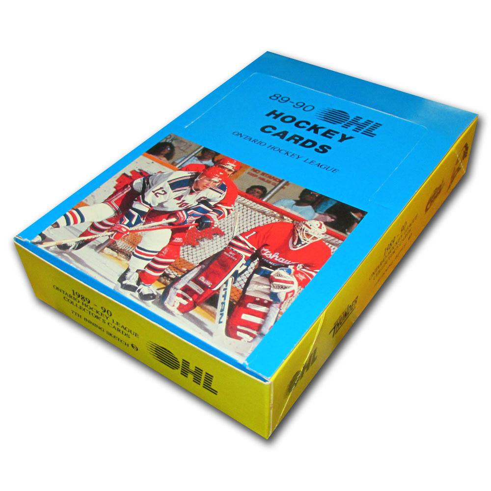 1989-90 Ontario Hockey League Collector Cards Box