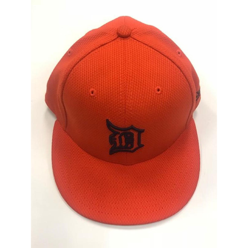Photo of Team-Issued #41 Orange Spring Training Cap