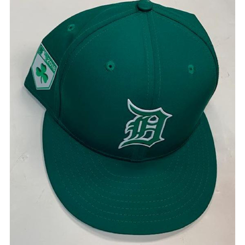 Photo of Game-Used St. Patrick's Day Cap: Ron Gardenhire