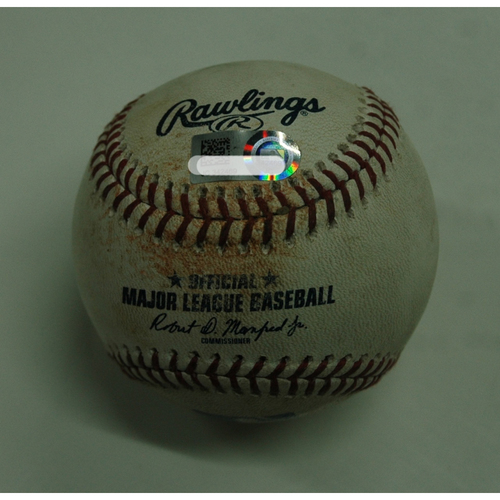 Photo of Game-Used Baseball: Edwin Encarnacion Triple