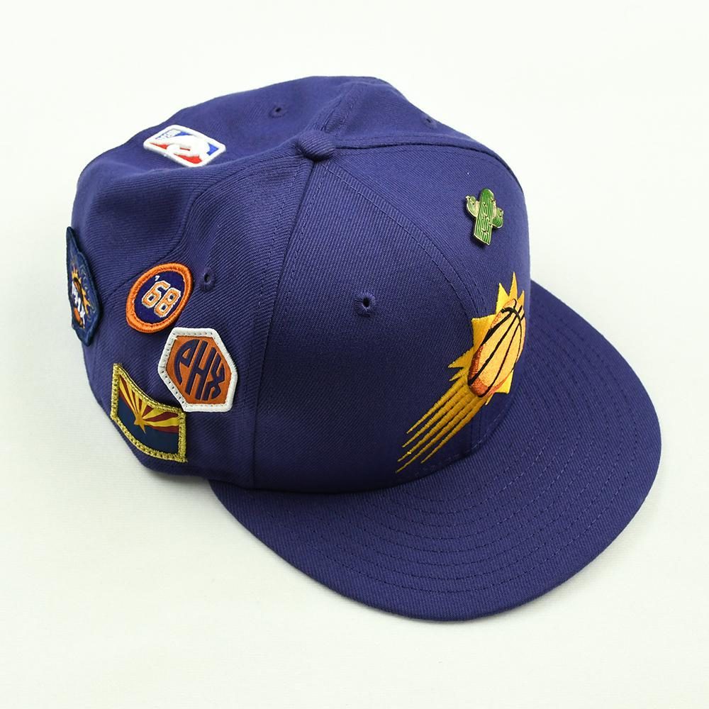 Mikal Bridges - Phoenix Suns - 2018 NBA Draft Class - Draft Night Photo-Shoot Worn Hat