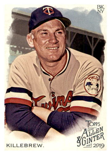 Photo of 2019 Topps Allen and Ginter #117 Harmon Killebrew
