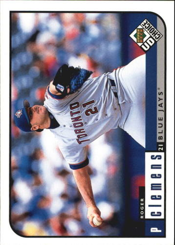 Photo of 1999 UD Choice #155 Roger Clemens