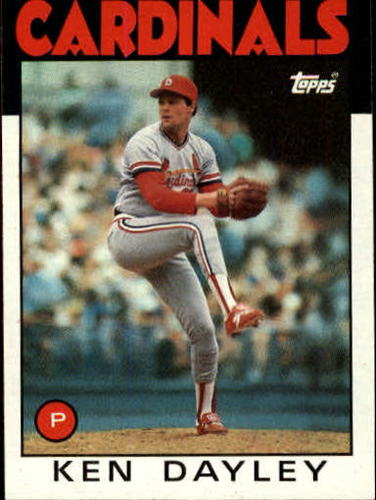 Photo of 1986 Topps #607 Ken Dayley