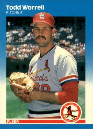 Photo of 1987 Fleer #312 Todd Worrell