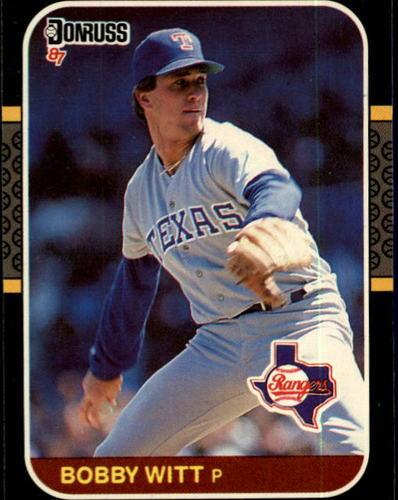 Photo of 1987 Donruss #99 Bobby Witt RC