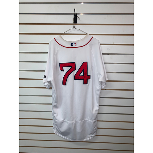 Photo of Rafael Devers Team Issued 2017 Home Jersey