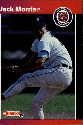 Photo of 1989 Donruss #234 Jack Morris