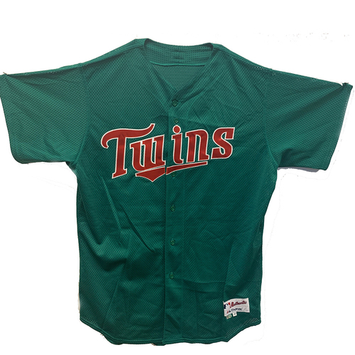 Photo of Minnesota Twins St. Patrick's Day Jersey - Choose Your Jersey Number!