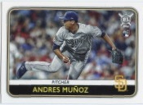 Photo of 2020 Topps Big League #110 Andres Munoz RC